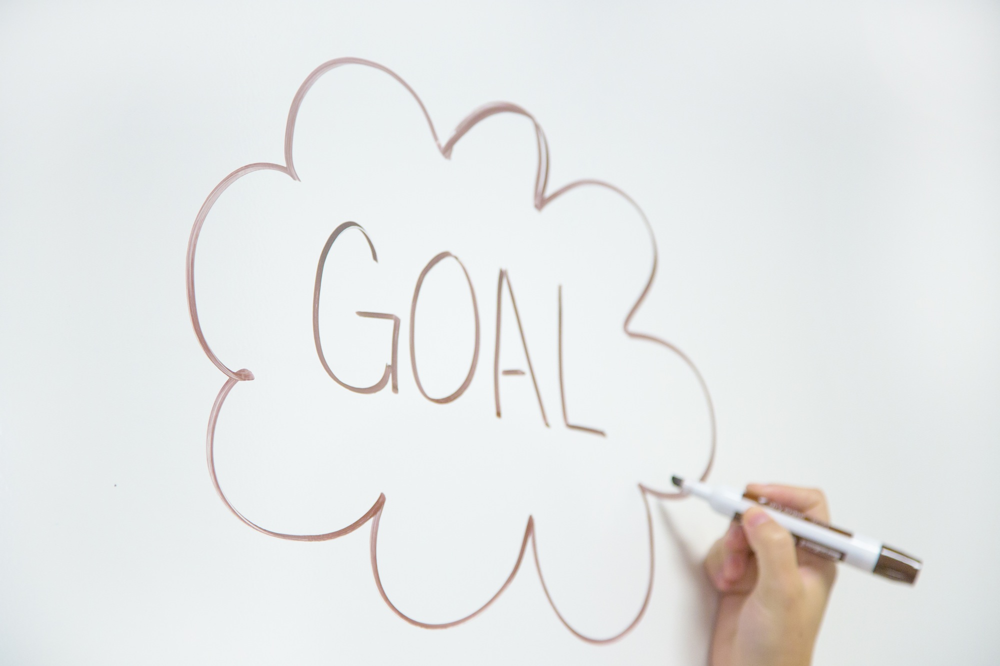 Your goals should range from small to large