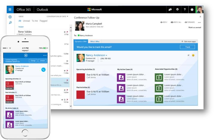CRM App for Outlook
