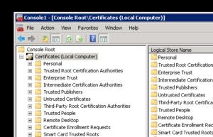 CertificateStore