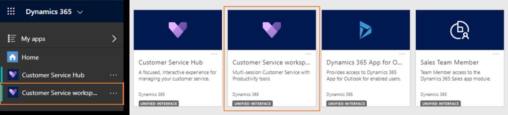 Dynamics 365 wave 2 update: Customer Service workspace app