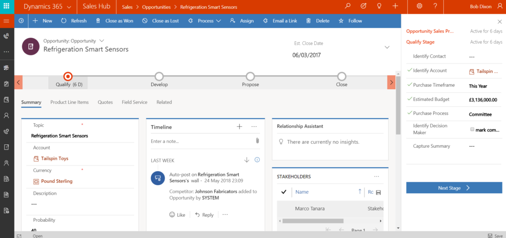 Dynamics 365 Unified Interface