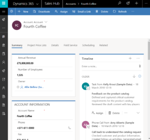 Dynamics 365 Unified Interface - All Devices