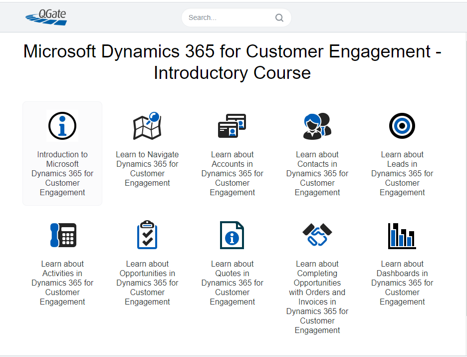 Microsoft Dynamics 365 for Customer Engagement - Introductory Course