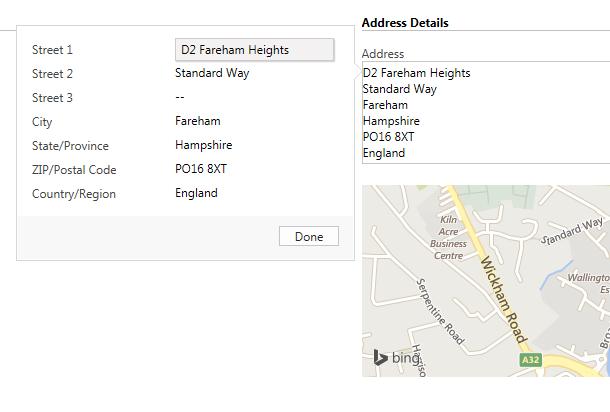 Composite Fields - Address