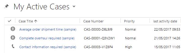 My Active Cases