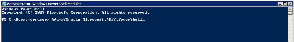 PowerShell ADFS Addon