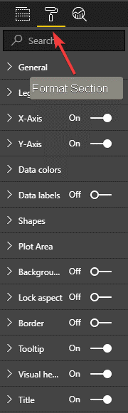 Power BI Data Visualizations Formats