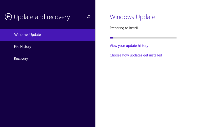 Check the latest updates have been applied by running Microsoft Windows Updates