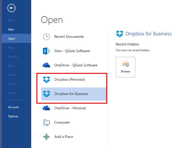 Figure 3: Microsoft Office for Windows