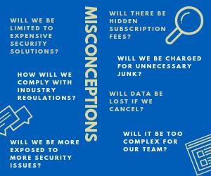 CRM Cloud Misconceptions