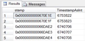 Convert the Timestamp
